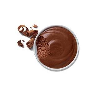 Mousse au chocolat artisanal